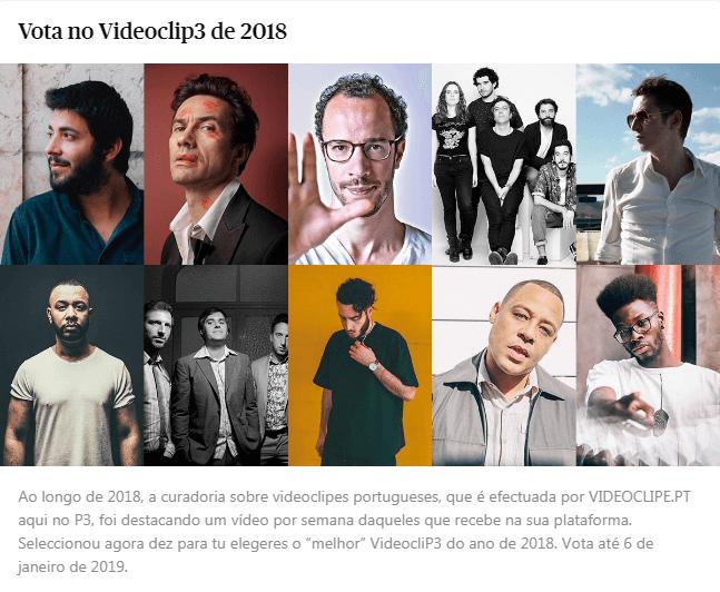 Vota no VideocliP3 de 2018